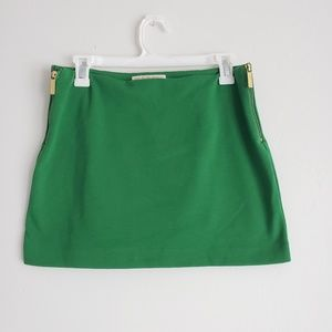 MICHAEL KORS Green Bodycon Skirt